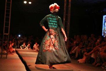 Colación y muestra del Instituto de Moda y Diseño en el Centro de Convenciones