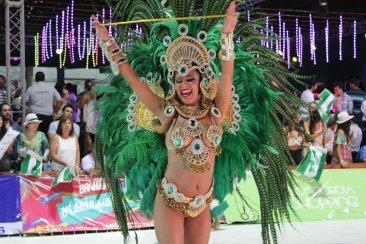 EMPERATRIZ: Comparsa ganadora de edición 2017 de carnaval más pasional del país