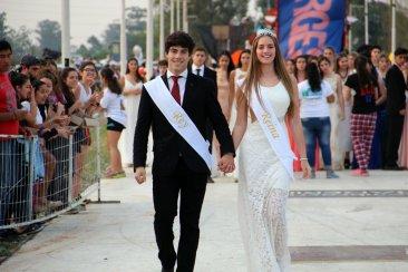 Los reyes estudiantiles camino al cetro mayor