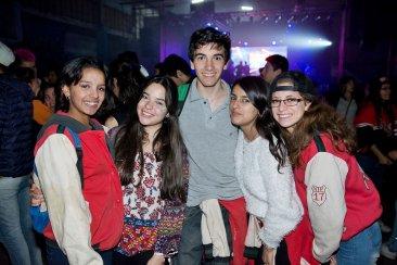Festejos estudiantiles en el club Ferro PARTE 2