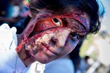 Las fotos que sobrevivieron a la marcha de zombies concordienses