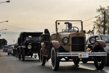 Concordia fue sede del 2° encuentro de autos y motos antiguos