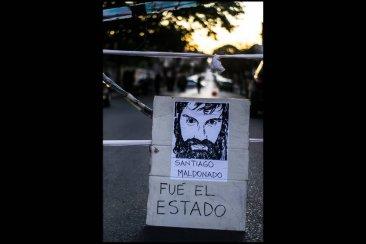Santiago Maldonado fue recordado en Concordia a un año de su desaparición