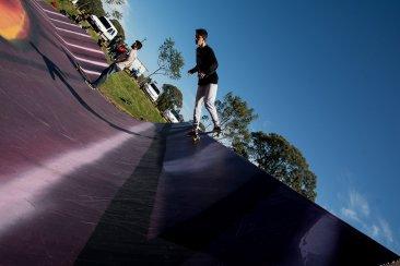 Volvió el ruedo al skatepark de Concordia
