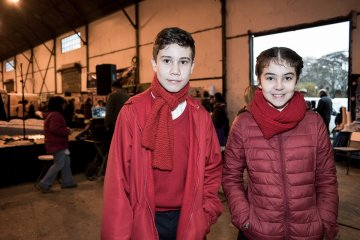La lluvia no opacó la Feria de Educación