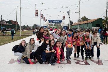 Los estudiantes concordienses corrieron la tradicional Maratón de ECU