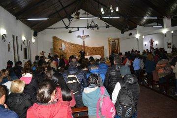 Cerca de 5000 fieles peregrinaron hacia Federación
