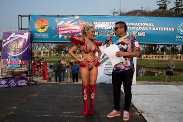 La costanera de Concordia se llenó de carnaval PARTE 1