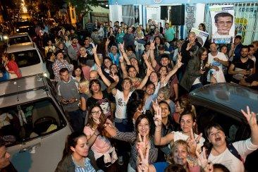 En Concordia se celebró el triunfo de la fórmula Fernadez-Fernández PARTE 1