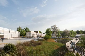Las animaciones 3D que muestran lo que será el proyecto del Distrito Tecnológico