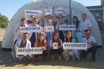 Los concordienses y el pedido solidario de QuedateEnCasaConcordia