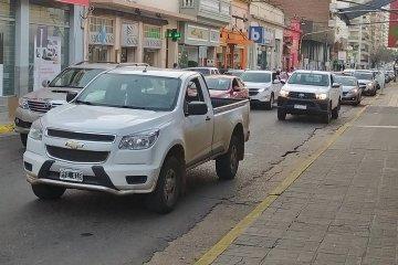 Bocinazo y movilización en Concordia contra la intervención de Vicentin