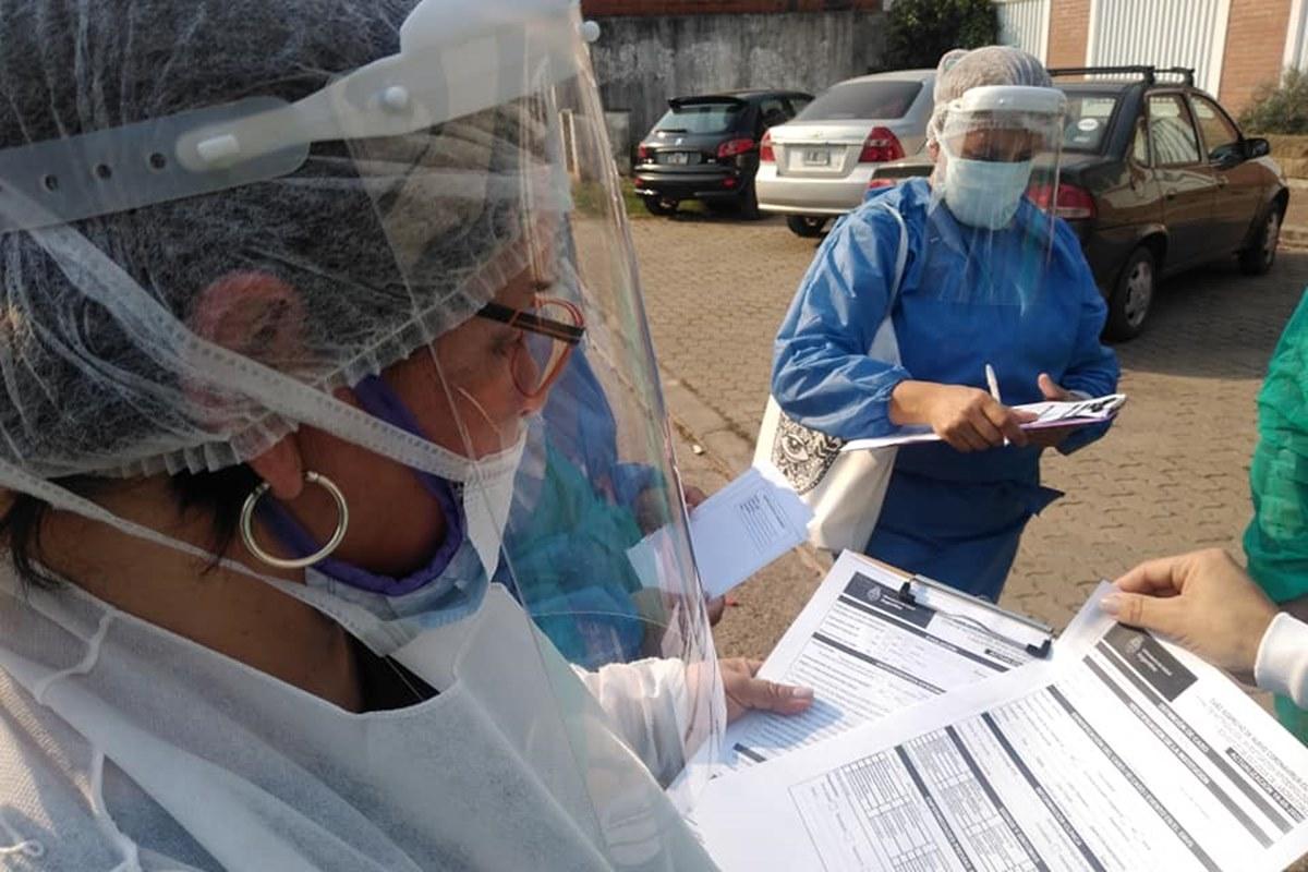 CORONAVIRUS: Así comenzó el abordaje del Barrio San Agustin