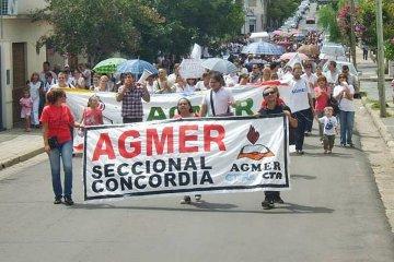 AGMER Concordia decidió movilizarse el próximo jueves