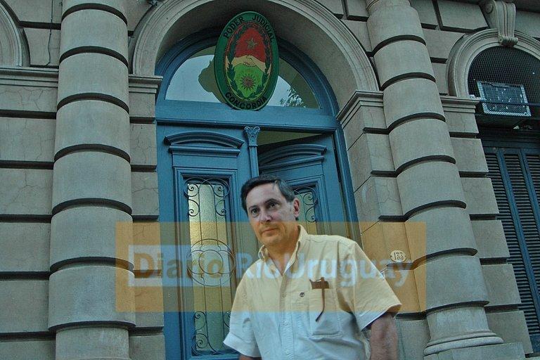 Anibal Lafourcade, fisccal de la causa del Hotel Ayuí
