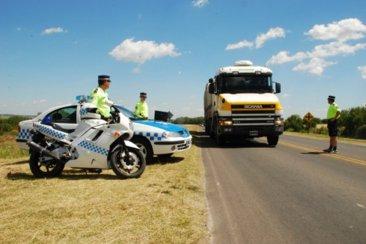 Un camionero denunció un robo en la Ruta 14 pero la policía descubrió la verdad