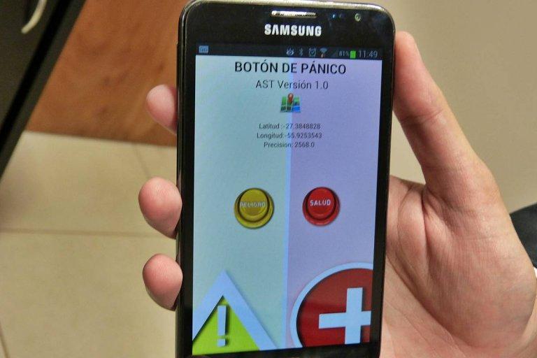 Otra vez el botón el anti pánico actuó y evitó hechos de violencia
