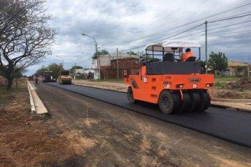 La avenida de acceso principal a Chajarí sería inaugurada a fines de enero