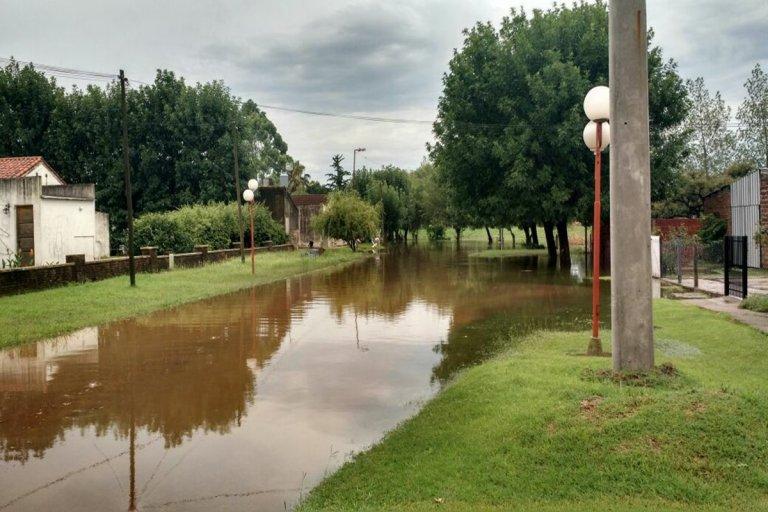 Las calles se convirtieron en ríos.