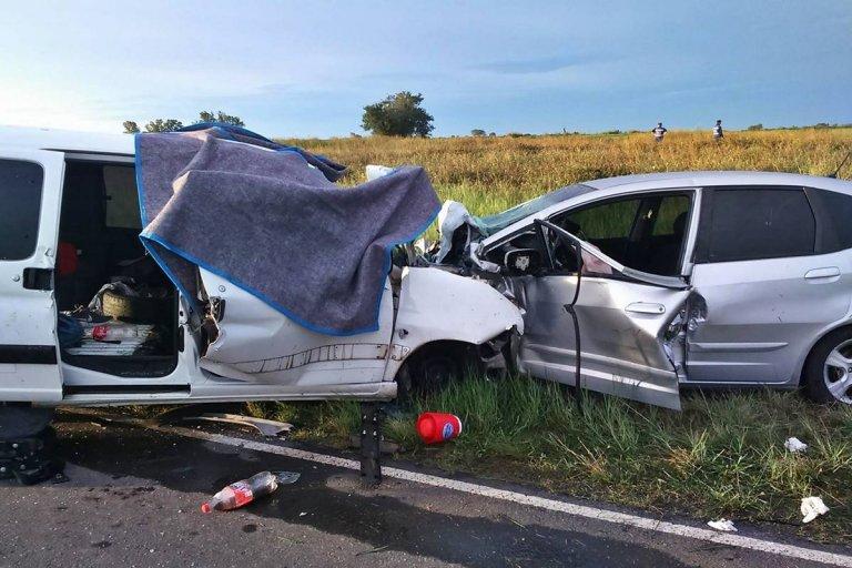 El fatal impacto frontal ocurrió en ruta 18, en Villaguay.