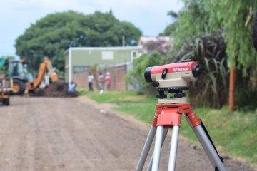 Avanzan varias obras de pavimentación en la ciudad de Chajarí