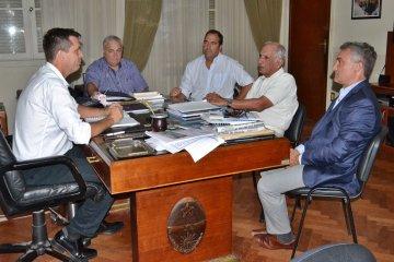 APAMA solicitó a Cresto que interceda ante Nación por el sector arandanero