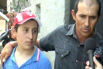 Caminó durante tres días para agradecerle una promesa cumplida al Guachito Gil