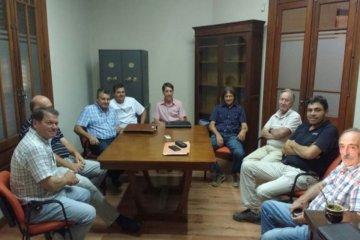 Autoridades municipales de Santa Ana se reunieron con citricultores de Concordia