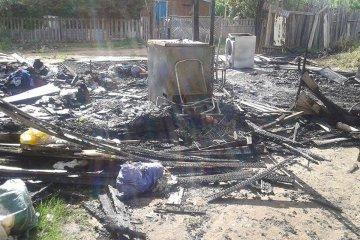 Un incendio consumió totalmente a una vivienda en el barrio Sarmiento