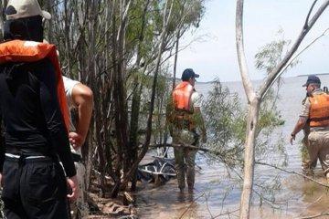 Hallaron un cuerpo en el río Paraná e intentan confirmar si pertenece a Baldezari