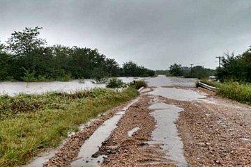 Cesó el alerta meteorológico pero los caminos quedaron seriamente afectados