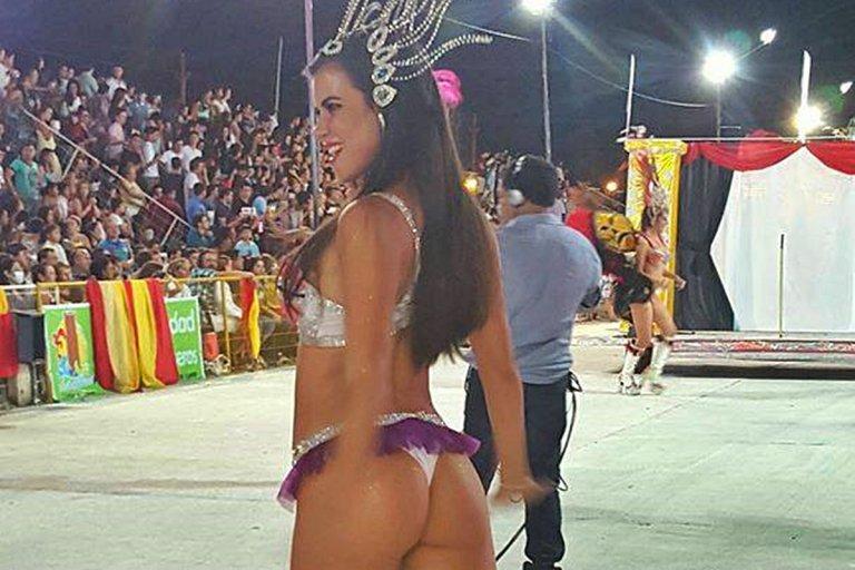 Daiana Arlettaz  y su paso por los carnavales entrerrianos