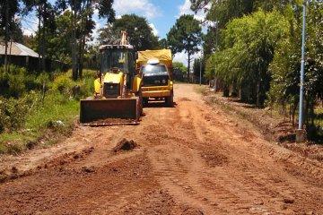 La zonal Concordia de Vialidad intensificó los trabajos en la red caminera del departamento