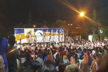 Una multitud acompañó la previa del Carnaval 2017 de Chajarí
