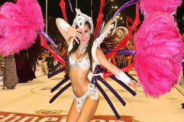 La concordiense Daiana Arlettaz será una de las figuras del carnaval de Gualeguay