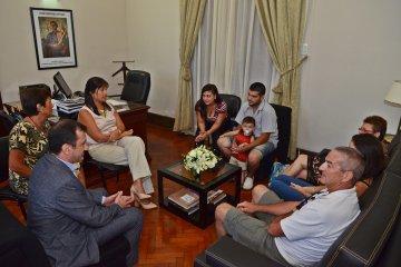 La familia del joven que falleció en Perú agradeció el acompañamiento del gobierno provincial