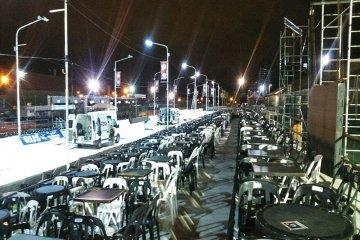 Nuevamente el clima obligó a suspender la cuarta noche del carnaval de Concordia
