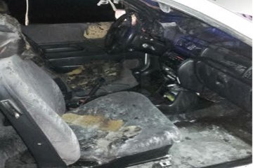 Un automóvil se incendió en la ruta provincial N° 2
