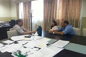 Galimberti recibió en Chajarí a diputados provinciales