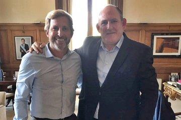 Niez se reunió nuevamente con el ministro del Interior
