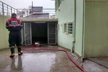 Por las intensas lluvias se inundó el subsuelo de Tribunales y Alcaldía de Chajarí