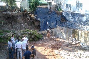 Ingenieros concordienses viajaron a Chajarí para analizar la parroquia en peligro de derrumbe