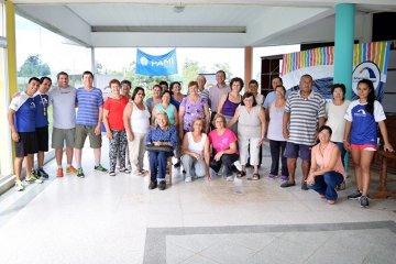 La titular del PAMI Concordia estuvo presente en el cierre del recreativo en Chajarí