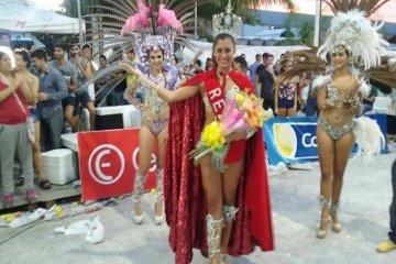 Se coronó a la nueva Reina de los Carnavales de Federación
