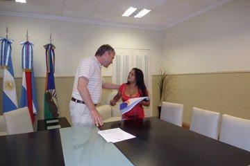 Se entregaron dos viviendas nuevas en Chajarí