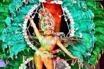 La comparsa Emperadora se quedó con la corona del Carnaval de Federación 2017