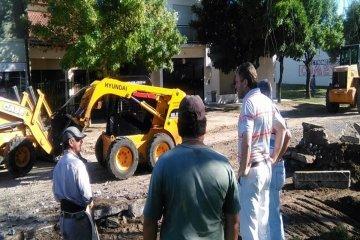 Comenzaron en Chajarí los trabajos de repavimentación de la avenida 9 de Julio