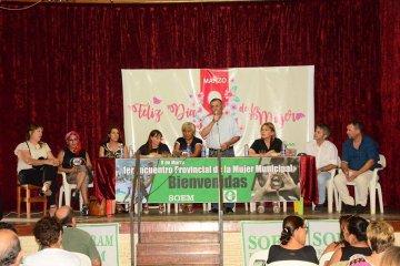 """Este 8 de marzo se realizó el """"Primer Encuentro Provincial de la Mujer Municipal"""""""
