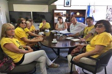 La asamblea anti fracking planteó a Niez sus preocupaciones por la seguridad de la represa