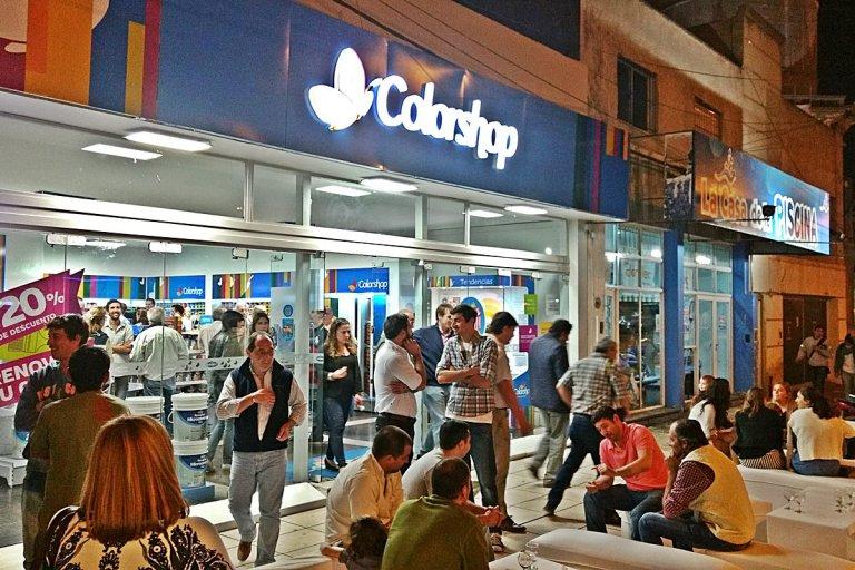 La cadena de pinturerías Colorshop inauguró su local en Concordia